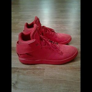 Mens ADIDAS Red Sneakers 13